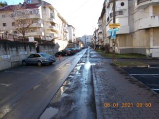 Firma amendata cu 5.000 de lei pentru ca a stricat o strada