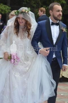 Fiul celui mai bogat botosanean, nunta cu doi senatori, fete cu flori in cosite si mireasa ca o zana: GALERIE FOTO