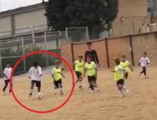 Fiul lui Cristiano Ronaldo a marcat un gol superb (Video)
