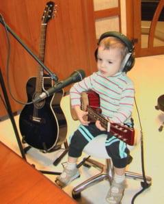 Fiul lui Pavel Stratan, Cezar, isi lanseaza album la 5 ani