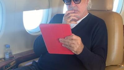 Flavio Briatore, bolnav de COVID- 19 si internat in stare grava in spital