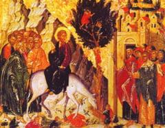 Floriile - Intrarea Domnului in Ierusalim