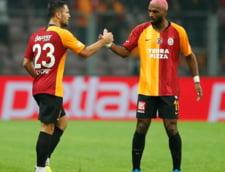 Florin Andone, accidentat grav in meciul Galatasaray - Rizespor. Atacantul a fost scos cu targa de pe teren