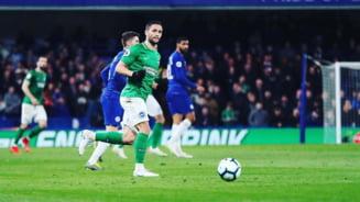 Florin Andone, criticat aspru de presa britanica dupa meciul pierdut de Brighton cu 5-0: Si-a irosit sansa