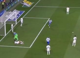 Florin Andone a marcat in meciul cu Real Madrid (Video)