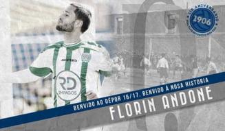 Florin Andone a semnat cu o noua echipa - oficial