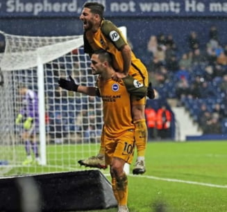 Florin Andone o salveaza pe Brighton in Cupa Angliei cu un gol spectaculos