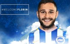 Florin Andone va juca in Premier League: Iata ce echipa l-a transferat