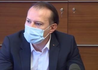 Florin Cîțu: Voi cere o analiză despre cum ne-am pregătiti de valul 4 VIDEO