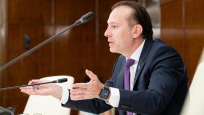 """Florin Cîțu, nou atac la USR PLUS: """"Eu nu cred că cei care au negociat alături de mine PNRR-ul se vor opune doar pentru că acum sunt alături de AUR şi PSD"""""""