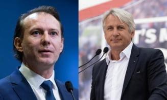 """Florin Cîţu nu uită de războiul cu Teodorovici: """"Aţi salvat România de un spion rus"""""""