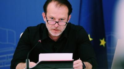 Florin Cîțu va fi noul președinte al Senatului SURSE