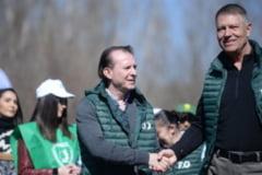 Florin Citu, prima iesire alaturi de Klaus Iohannis dupa ce si-a anuntat candidatura la congresul PNL