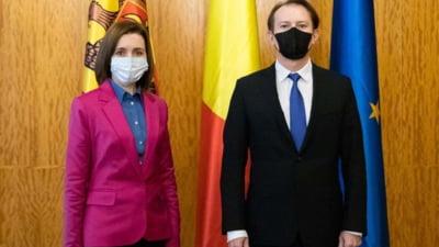 Florin Citu a discutat cu Maia Sandu conditiile in care romanii din Republica Moldova se pot vaccina in Romania