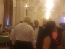 Florin Iordache, la discutii pe hol, inainte de congresul PSD