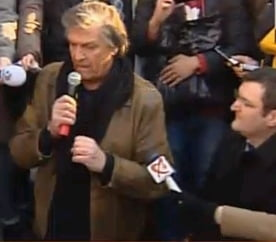 Florin Piersic, primul actor care a primit o stea pe Walk of Fame din Bucuresti (Video)