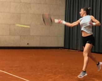 Florin Segarceanu vine cu o veste excelenta dupa primul antrenament alaturi de Simona Halep