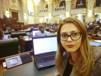 """Florina Presada cere demisia lui Barna, Voiculescu si Ghinea: """"Aroganta voastra si nepotismul ne-au adus aici. Asta e rezultatul politicii voastre de gasca"""""""