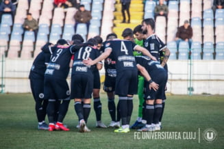 Focar de COVID-19 la Universitatea Cluj. Meciul cu Rapid a fost amanat
