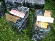 Focuri de arma trase pentru prinderea unor contrabandisti de tigari