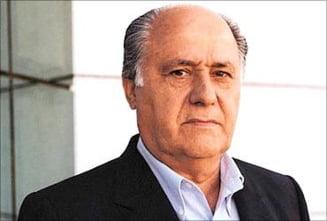 Fondatorul Zara a fost cel mai bogat om din lume doar 2 zile