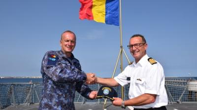 Forțele Navale Române au preluat comanda unei operațiuni NATO derulate în Marea Mediterană
