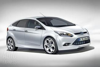 Ford Focus, cea mai vanduta masina a anului 2012 (Video)