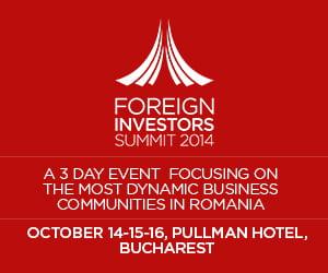 Foreign Investors Summit, despre cum putem creste economia Romaniei