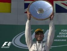 Formula 1: Hamilton castiga in Australia. Vettel, primul podium la Ferrari