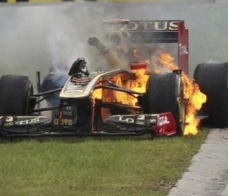 Formula 1, la un pas de tragedie (Video)