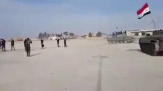 Forte siriene loiale lui Assad au sarit in ajutorul kurzilor care sunt asediati de armata turca