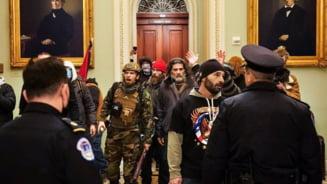 Fortele de ordine federale evacueaza protestatarii din Capitoliu. Serviciile Secrete, FBI si Garda Nationala din Maryland raspund solicitarii de a interveni