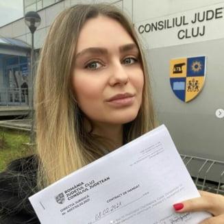 Fosta miss, membru PNL, numita in consiliul de administratie al unui spital COVID din Cluj