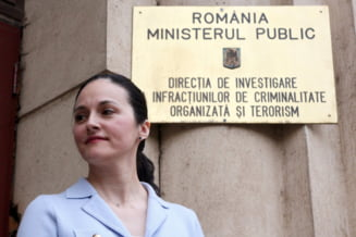 Fosta sefa DIICOT, Alina Bica, ramane cu condamnarea de 4 ani de inchisoare pentru coruptie. Inalta Curte respinge recursul in casatie