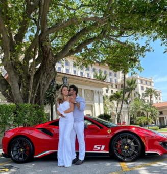Fosta sotie a lui Cristi Borcea l-a uitat pe milionarul roman si a gasit un american plin de bani. Imagini de senzatie de la petrecerea de logodna a celor doi iubiti