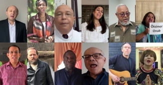"Fosti si actuali ambasadori ONU canta ""Heal the World"", din initiativa unei romance (Video)"