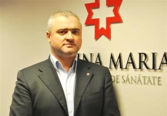 "Fostul adjunct al Bancii Transilvania, directorul retelei de sanatate ""Regina Maria"""