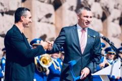 Fostul campion mondial la box Vitali Kliciko a fost reales pentru a treia oara primar al Kievului