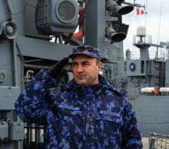 """Fostul comandant al fregatei """"Regele Ferdinand"""", contraamiralul Mihai Panait, numit sef al Fortelor Navale Romane"""