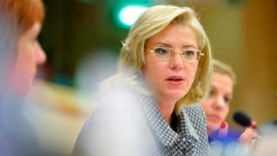 Fostul comisar european Corina Crețu, numită raportor în Parlamentul European