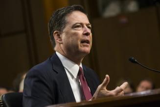Fostul director FBI il face mincinos pe Trump si relateaza scene demne de Mafie in noua sa carte