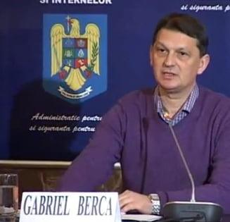 Fostul ministru Gabriel Berca, retinut de DNA