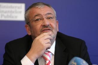 Fostul ministru al Finantelor Sebastian Vladescu, pus sub acuzare pentru spagi de 3,2 milioane de euro