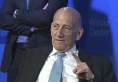 Fostul premier israelian Ehud Olmert, condamnat din nou la inchisoare pentru coruptie