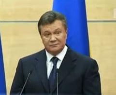 Fostul presedinte Viktor Ianukovici, vinovat de inalta tradare si condamnat la inchisoare