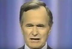 Fostul presedinte american George H.W. Bush a ajuns de urgenta la spital