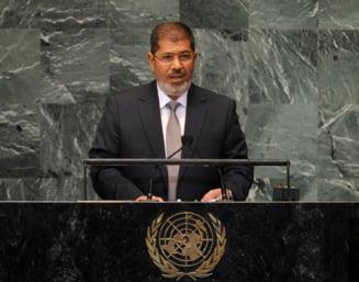 Fostul presedinte egiptean Mohammed Morsi a fost condamnat la trei ani de inchisoare