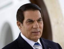 Fostul presedinte tunisian Ben Ali, judecat pentru 18 acuzatii - droguri, crime, coruptie