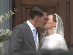 Fostul principe Nicolae s-a casatorit cu Alina Maria Binder. Arhiepiscopul Calinic: Regele era necajit ca a avut doar fete, i-a dat Dumnezeu un nepot