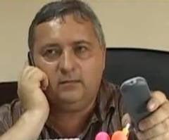 Fostul sef al politiei din Deta a facut infarct (Video)